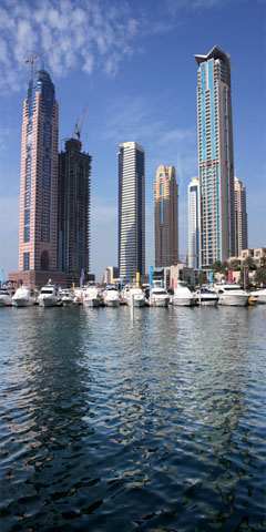 Photography Skyline of Dubai